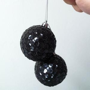 Bola de Natal com Lantejoula – Faça Você Mesmo!
