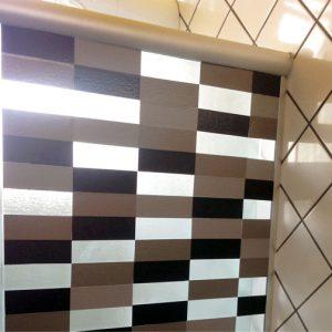 Como decorar o banheiro – Adesivo para o box