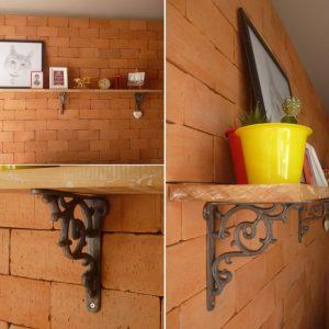 Prateleira rústica – Dicas para furação de paredes