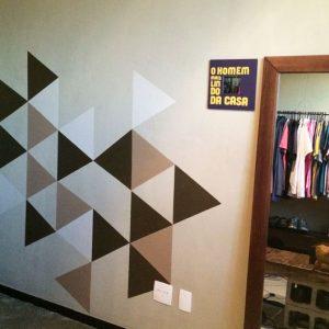 Efeito Geométrico na parede