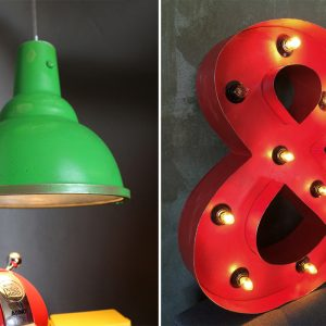 Projeto Home Office: Luminárias Industriais