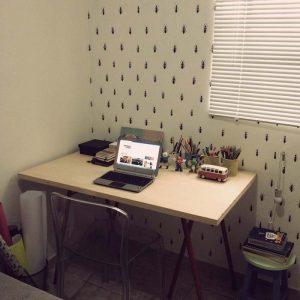 Leitor Ninja: o quarto do Hallyson