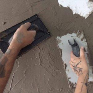 Casa da Lari – Parede em cimento queimado