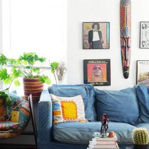 Inspiração – Apartamento com estilo étnico no Brooklyn