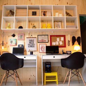 Como decorar um escritório gastando pouco