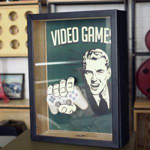 Como fazer um Quadro Gamer com Efeito 3D