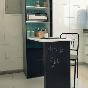 Como customizar móvel para cozinha pequena