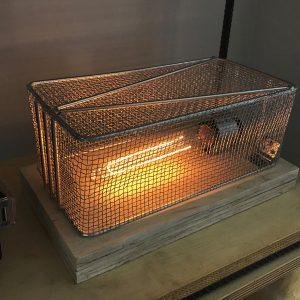 Como fazer uma Luminária com Cesto de Fritadeira – Estilo Industrial